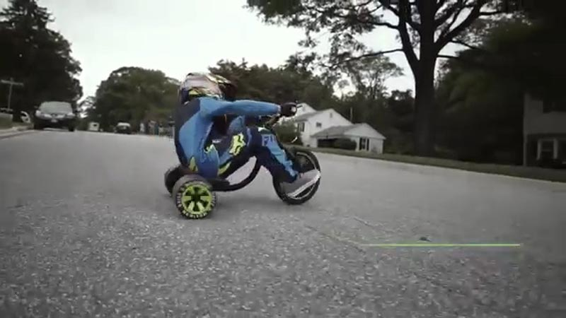 Location quad Drift Trike