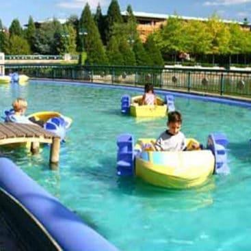 Location pédalos enfants Blue Lagoon