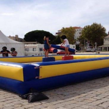 Location combat de joutes gonflable