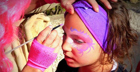 Organisation maquillage enfants