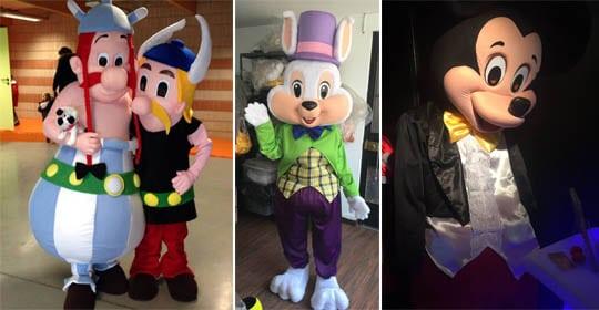 Location costumes peluches Paca