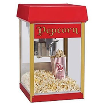 Location machine pop-corn