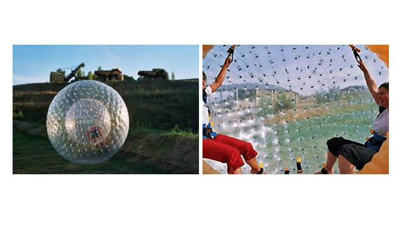Location Zorb ball