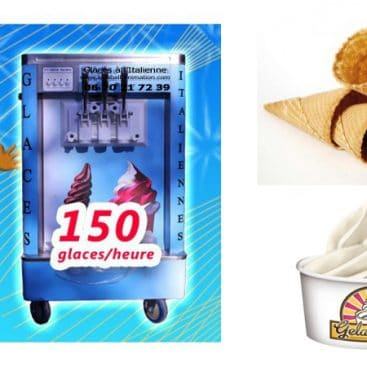 Location machine glaces à l'Italienne