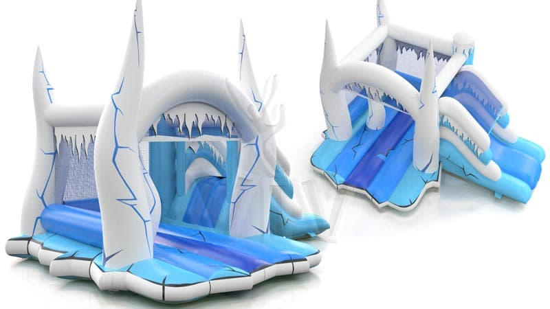 location ch teau reine des neiges kidsball animation. Black Bedroom Furniture Sets. Home Design Ideas