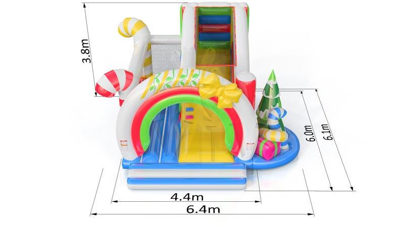 Location château gonflable pour Noel