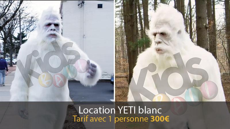 Location Yeti blanc
