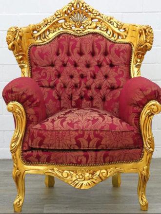 Location fauteuil père Noël