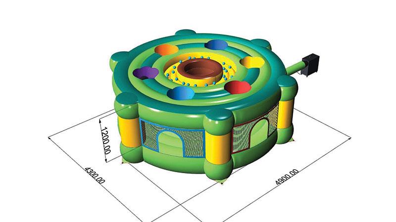 Location structure gonflable Jeu de la Taupe