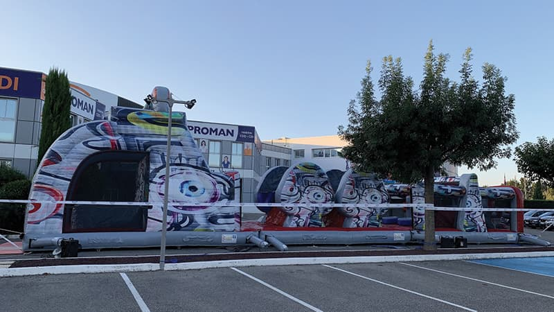 Location parcours Graffiti