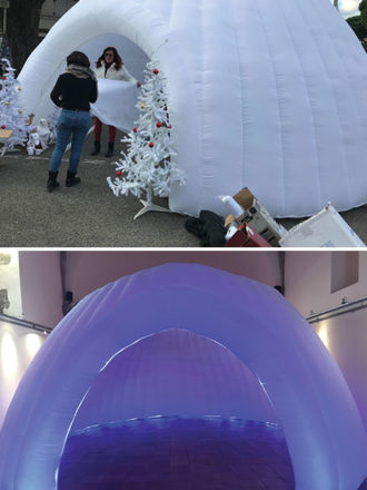 Location igloo led