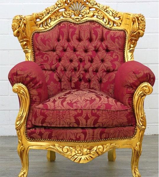Location fauteuil du Père Noël