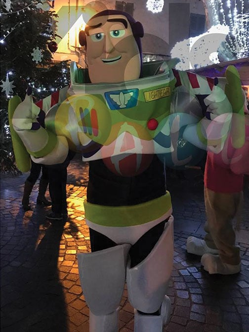 Location mascotte Buzz