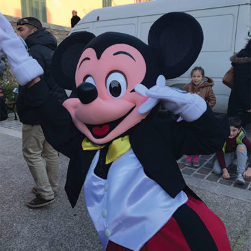 Location mascotte de Mickey
