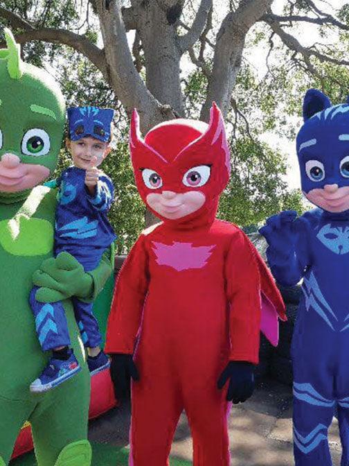Location mascottes Pyjamasques