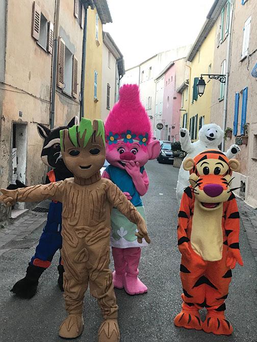 Location mascotte Poppy
