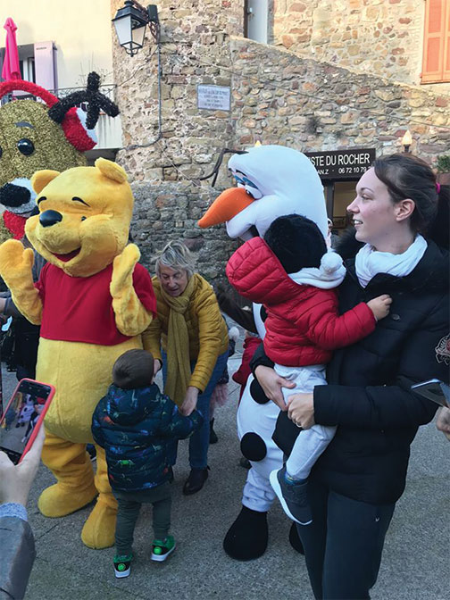 Location mascotte Winnie l'ourson