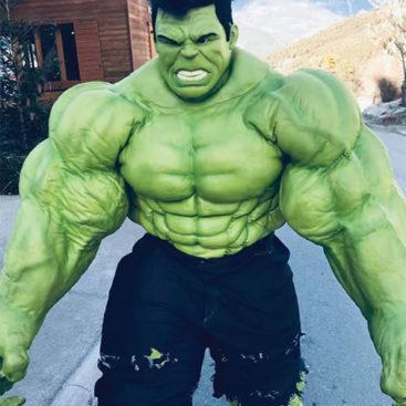 Location déguisement de Hulk