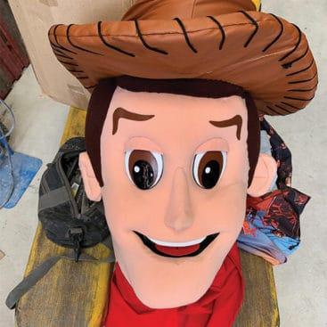 Location mascotte cowboy