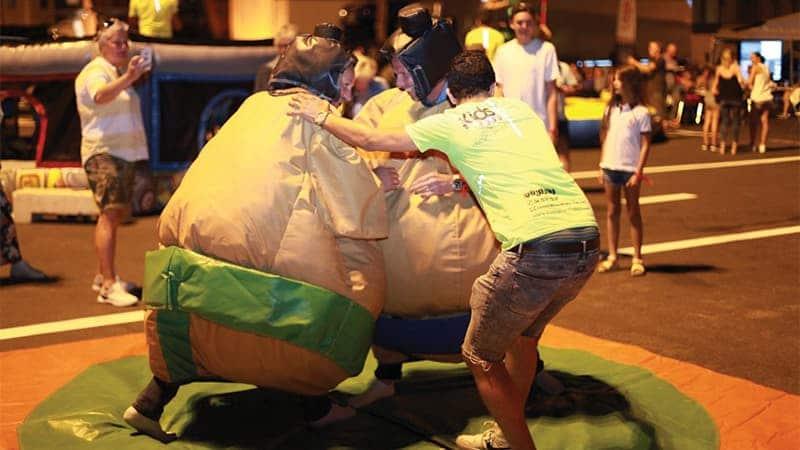Location costumes Sumo