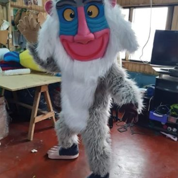 Location mascotte singe