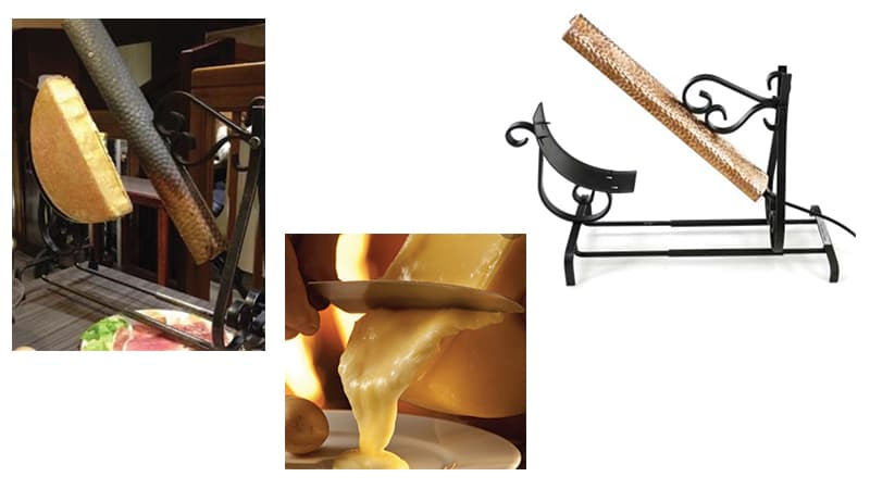 Location service à raclette