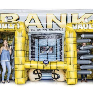 Location jeu gonflable La Banque