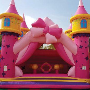 Location château Princesse gonflable